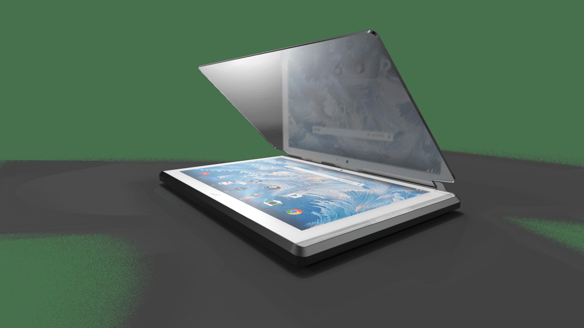 Prismapad with tablet